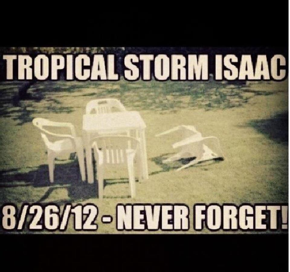 Tropical Storm Isaac An Exciting Weekend